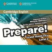 CAMBRIDGE ENGLISH PREPARE LEVEL 2 CLASS AUDIO CDS (2)