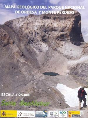 MAPA GEOLÓGICO DEL PARQUE NACIONAL DE ORDESA Y MONTE PERDIDO                    ESCALA 1:25.000