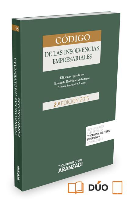CÓDIGO DE LAS INSOLVENCIAS EMPRESARIALES (PAPEL + E-BOOK).