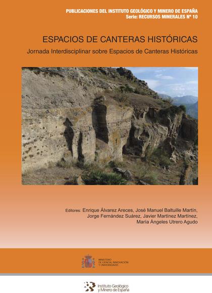 ESPACIOS DE CANTERAS HISTÓRICAS                                                 JORNADA INTERDI