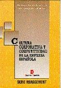 CULTURA CORPORATIVA COMPETITIVIDAD EMPRESA ESPAÑOLA