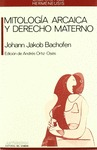 MITOLOGIA ARCAICA DERECHO MATERNO