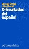DIFICULTADES ESPAÑOL