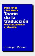 TEORÍA DE LA TRADUCCIÓN : UNA APROXIMACIÓN AL DISCURSO