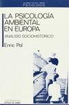 PSICOLOGIA AMBIENTAL EN EUROPA