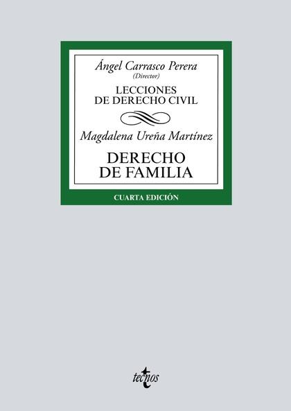 DERECHO DE FAMILIA. LECCIONES DE DERECHO CIVIL