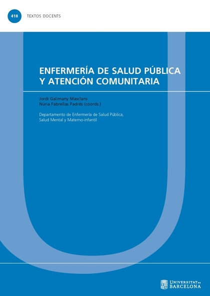 ENFERMERIA DE SALUD UÚBLICA Y ATENCION COMUNITARIA.