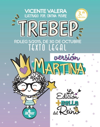 TREBEP VERSIÓN MARTINA. RDLEG 5/2015, DE 30 DE OCTUBRE. TEXTO LEGAL