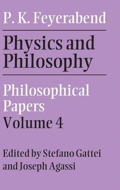 PHYSICS AND PHILOSOPHY.