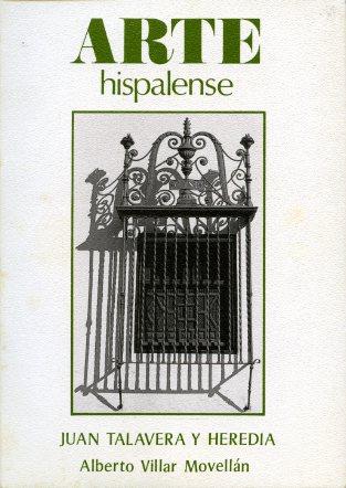 ARTE HISPALENSE N.13 JUAN TALAVERA Y HEREDIA