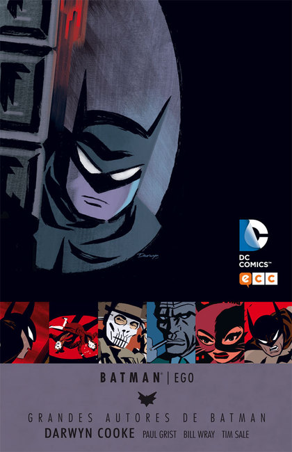 GRANDES AUTORES DE BATMAN: DARWYN COOKE - BATMAN: EGO.