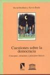 CUESTIONES DEMOCRACIA