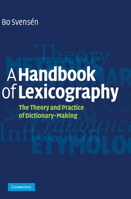 A HANDBOOK OF LEXICOGRAPHY