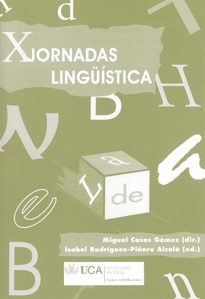 JORNADAS DE LINGÜÍSTICA, X.