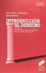 INTRODUCCION AL DERECHO (DIRIGIDA AL SECTOR TURISTICO)