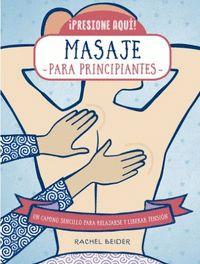 MASAJE PARA PRINCIPIANTES