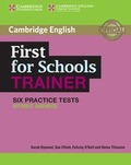 FIRST FOR SCHOOLS TRAINER BK