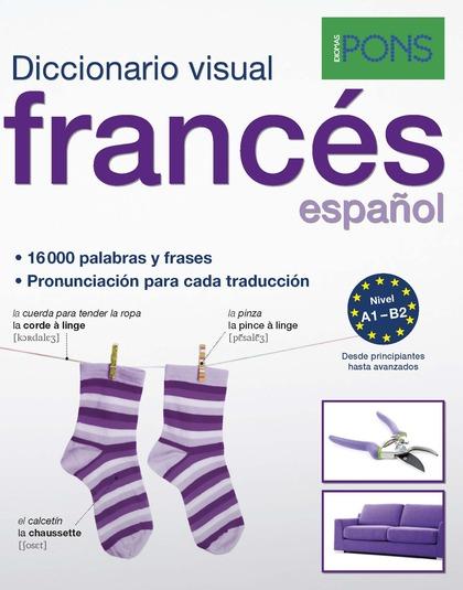 DICCIONARIO PONS VISUAL FRANCES/ESPAÑOL.