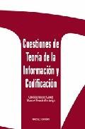 CUESTIONES DE TEORÍA DE LA INFORMACIÓN Y CODIFICACIÓN