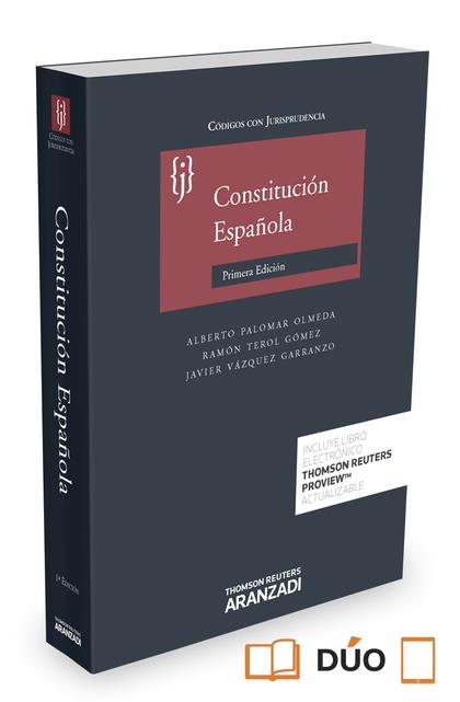 CONSTITUCIÓN ESPAÑOLA (PAPEL + E-BOOK).