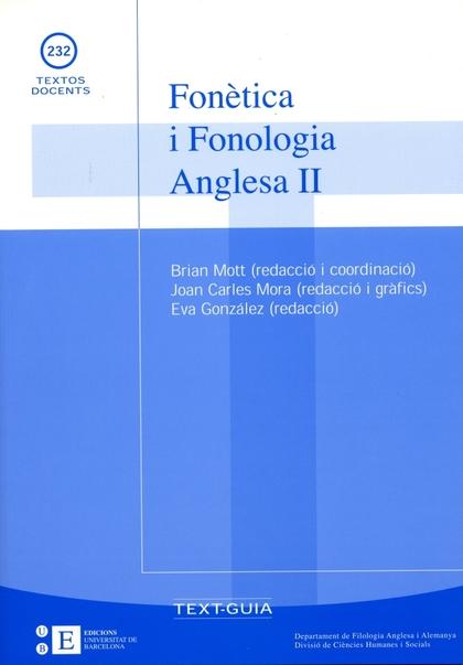 FONÈTICA I FONOLOGIA ANGLESA II