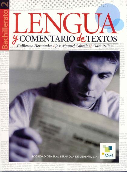 LENGUA Y COMENTARIOS DE TEXTO. SOLUCIONARIO