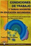 CONDICIONES DE TRABAJO Y TAREAS DOCENTES EN EDUCACIÓN SECUNDARIA : SATISFACCIÓN PROFESIONAL DEL