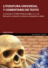 LITERATURA UNIVERSAL : LITERATURAS EN LA ANTIGÜEDAD : FORMACIÓN LITERARIA DE LA CONCIENCIA EURO