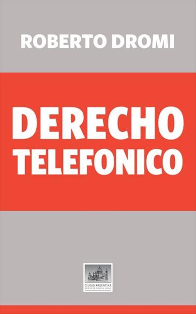 DERECHO TELEFÓNICO