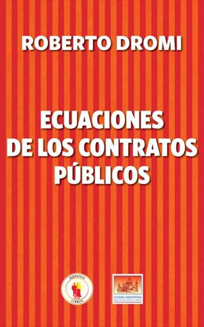 ECUACIONES DE LOS CONTRATOS PÚBLICOS