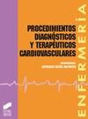 PROCEDIMIENTOS DIAGNOSTICOS TERAPEUTICOS CARDIOVASCULARES