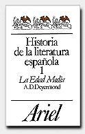 EDAD MEDIA HISTORIA DE LA LITERATURA ESPAÑOLA, 1.