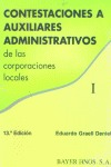 CONTESTACIONES A AUXILIARES ADMINISTRATIVOS DE LAS CORPORACIONES LOCAL