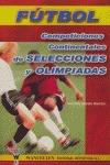 Fútbol. Competiciones continentales de selecciones y olimpiadas