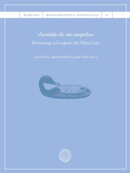 «SENTIDO DE UN EMPEÑO». HOMENATGE A GREGORIO DEL OLMO LETE