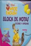 MAGIC ENGLISH. BLOCK DE NOTAS