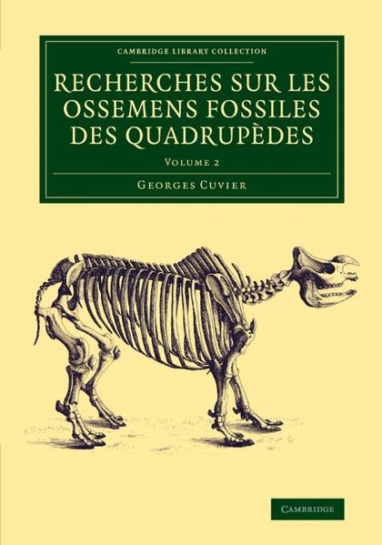 RECHERCHES SUR LES OSSEMENS FOSSILES DES QUADRUPÈDES - VOLUME             2