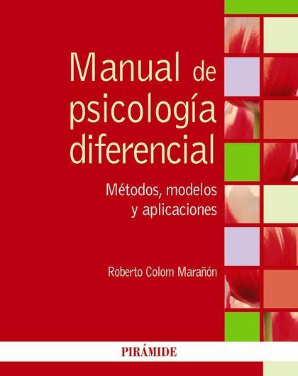 MANUAL DE PSICOLOGÍA DIFERENCIAL.