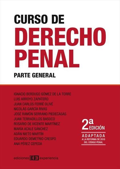 Curso derecho penal