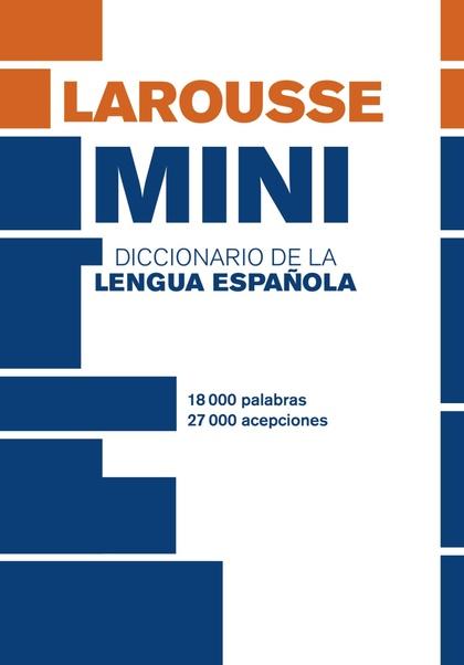 DICCIONARIO MINI LENGUA ESPAÑOLA.