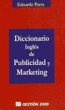 DICCIONARIO INGLÉS DE PUBLICIDAD Y MARKETING