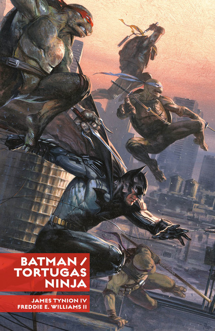 BATMAN/TORTUGAS NINJA.