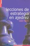 LECCIONES DE ESTRATEGIA EN AJEDREZ