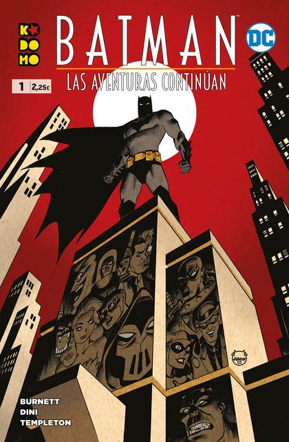 BATMAN: LAS AVENTURAS CONTINÚAN NÚM. 1 DE 8.