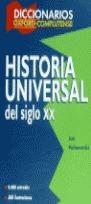 DICCIONARIO HISTORIA UNIVERSAL S.XX
