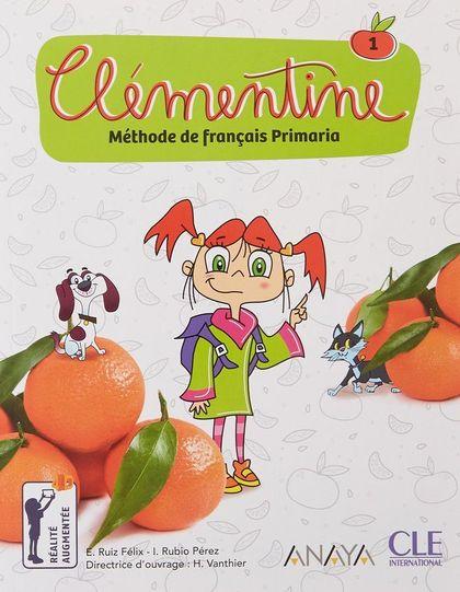 CLEMENTINE NIVEAU 1 ELEVE + DVD ANAYA.