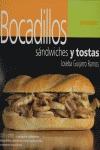 BOCADILLOS, SANDWICHES Y TOSTAS