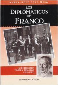 LOS DIPLOMÁTICOS DE FRANCO : J. F. DE LEQUERICA, TEMPLE Y TENACIDAD (1890-1963)