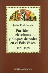 PARTIDOS, ELECCIONES Y BLOQUES DE PODER EN EL PAÍS VASCO : 1876-1923