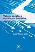 VALORES SOCIALES E INNOVACIÓN EDUCATIVA